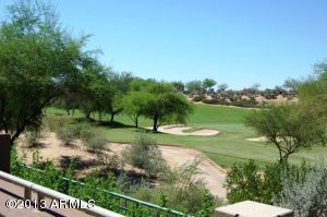 Your patio fronts right onto the Westin Kierland Golf Course!