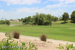 View from Townhome patio to the North on Stone Creek Golf Course