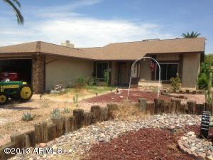 Front of home on Corner culdesac lot