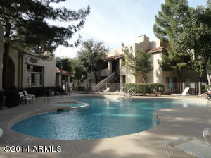Residents enjoy 3 community pools. This is the main pool and spa behind the clubhouse.