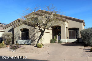 Wonderfully maintained home on Wildfire Golf Course offering the convenience of Desert Ridge with the privacy of a gated golf community - truly the best of all worlds!