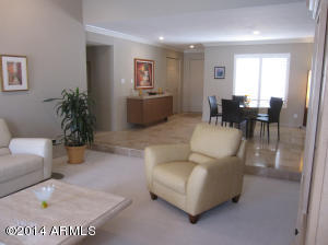 Bright, open entry, Dining Room and Living Room!