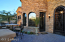 Day time view of this fabulous courtyard entry