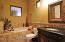 Very relaxing casita bath.