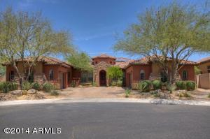 Grand curb appeal in premier area within Aviano.