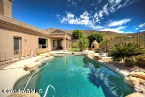Expansive South Mountain Views from Your Salt Water Pool