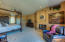 Note the large sitting room in the master bedroom.