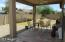 Covered and Tiled Patio outside Family Room