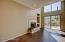 Light/Bright great room w/ fireplace, desert & mountain views & engineered wood floors.