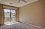 Large master bedroom with east facing balcony, overlooking Troon Mountain!