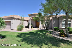 Front view of your new Scottsdale home.