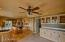 Beautiful Open Kitchen! Viking Dual Stove & Microwave Combination.