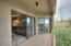 Sliding doors from the Living room and Master bedroom