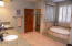 Double under mount sinks, separate soaking tub and shower. Dual closets and private WC.