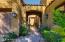 Pavered walkway welcomes you.
