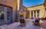 The home is designed around an interior courtyard/atrium. Great entertaining or relaxing space.