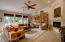 Wonderful space that would seamlessly adapt to any interior style.