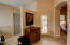 Master suite features an exit to the covered patio.