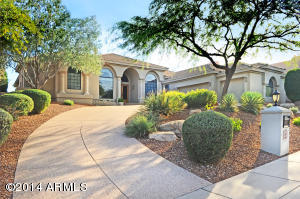 Beautiful curb appeal with circle drive