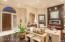 Notice the recessed lighting, high ceilings, architectural details!