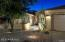 Landscape lighting adds the perfect touch!