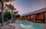 A beautiful Arizona sunset from your backyard oasis