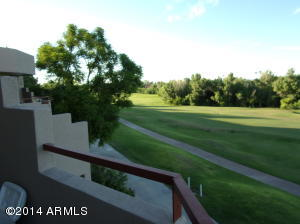 180 degree view of golf course for your relaxing pleasure