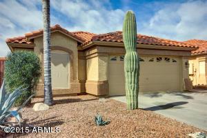 Fresh exterior painting and desert landscape