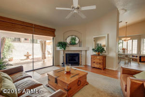 Spacious Living Room, Fireplace & Patio Walkout