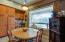 Corner Desk off Kitchen, Large Windows Overlooking Mountain Views!