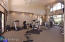The fitness facility is for residents of Ballantrae.