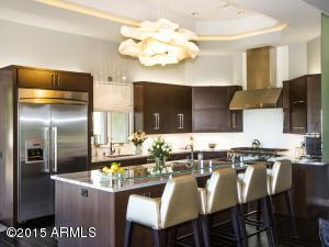 """Thermador Appliances & Hand Made """"Cloud"""" Lighting Fixture"""