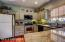 compact kitchen with granite
