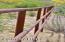 Three Rail Pipe Surrounds Perimeter of Property