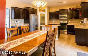 Spacious Eat in Kitchen with a Center Island!