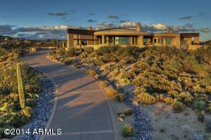 This home is located on a private ridge top to capture the 360 degree views.