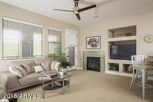 This Great Rm is a true Focal point of the home, with Gas Fire place, multiple dining areas, and lovely new carpet here and throughout the home!
