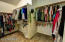 A place for everything with this large master closet!!