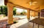 Large Covered Patio with Outdoor Ceiling Fans for your comfort and enjoyment.