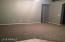 14x19 Family Room Overlooks Backyard. New Casual Grey Paint & Taupe Grey Carpet! Very Nice!
