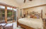Master Suite with fireplace and private patio