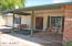 This south facing front patio gives you the perfect porch to swing in the shade