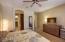 Spacious Master Bedroom/Bath with double vanities & Large walk in Closet