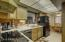 newer appliances, gourmet electric cooktop, fridge included