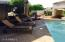 Front patio and pool