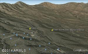 One Of The Highest View Lots In Eagles Nest Backing The Forever Wild McDowell Mountain Preserve...