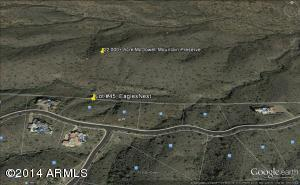 Prime View Lot Location Backing The McDowell Mountain Preserve...