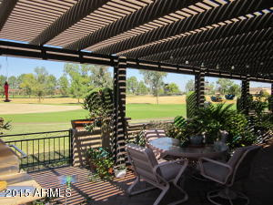 Wonderful patio with great views!