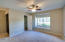 Oversized room adjacent to master bedroom could be set up as your private office or second bedroom! Private, full bathroom attached!
