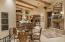 FIREPLACE BETWEEN KITCHEN & GREAT ROOM